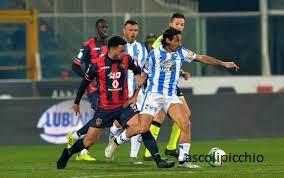 Sepak Bola Seri B Italia Pertandingan final Cosenza-Pescara